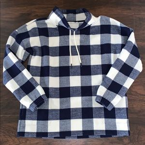 Vineyard Vines Buffalo Gingham Check Pullover L